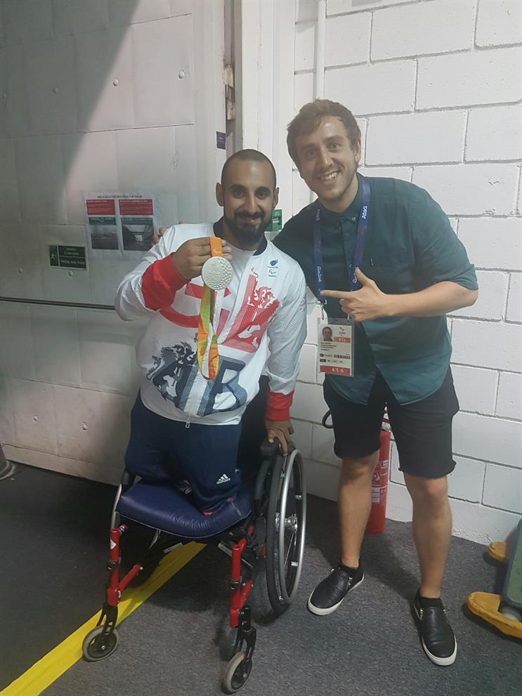 Paralympics GB's Ali Jawad