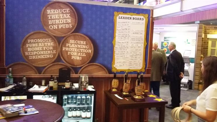 Camra at Conservative Party Conference