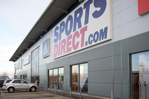 The Sports Direct warehouse in Derbyshire (Credit: Ian Francis / Alamy Stock Photo)