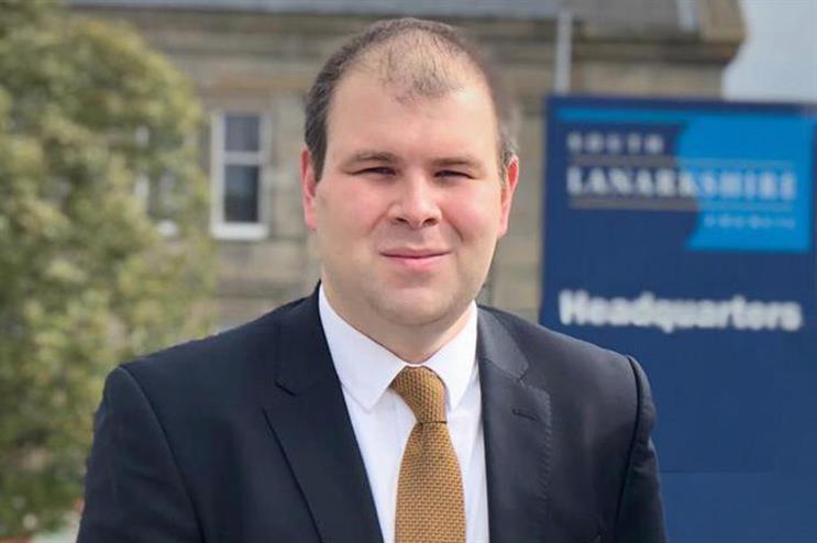 Mark McGeever, Lib Dem candidate for Rutherglen & Hamilton West