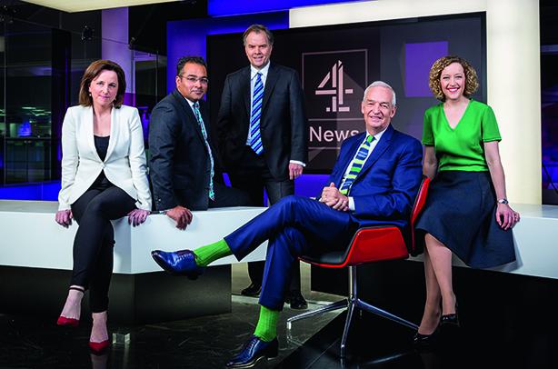 Jon Snow & Channel 4 team