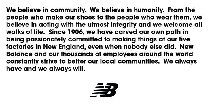 New balance statement