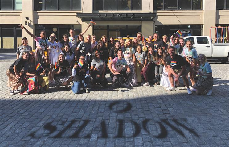 Shadow agency team photo