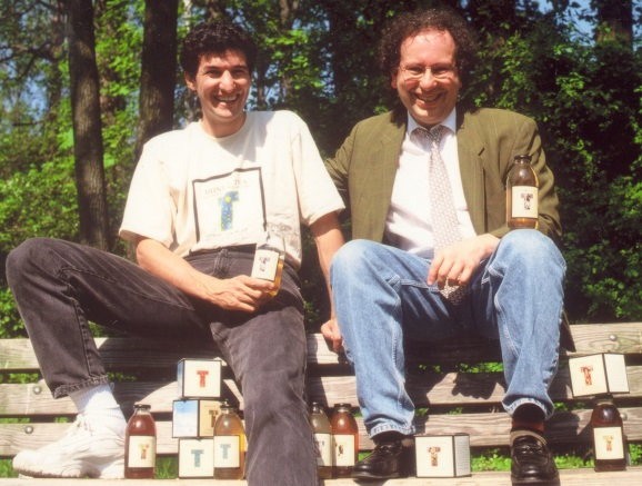 Seth Goldman launched Honest Tea with Barry Nalebuff (right,) his former professor at Yale
