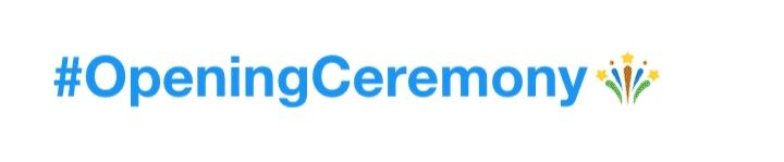 Twitter Rio 2016 Opening Ceremony