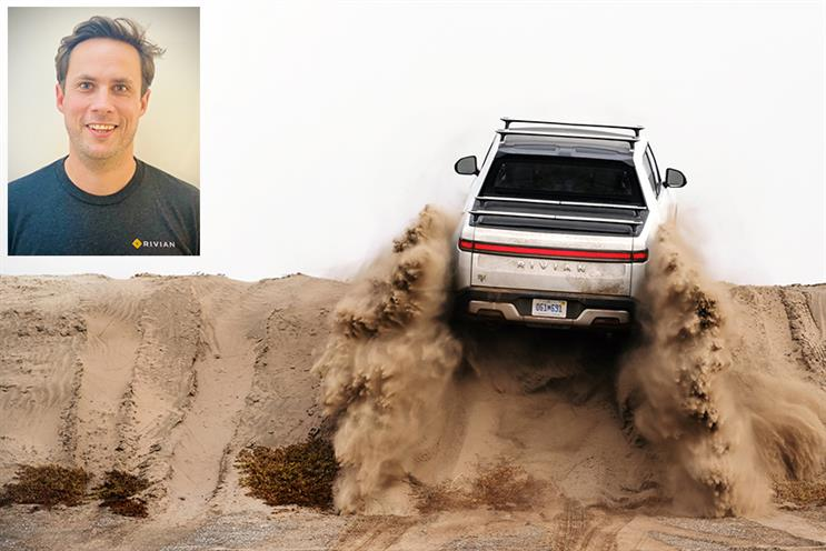Harry Porter (inset) will lead corporate affairs as Rivian plans to expand globally