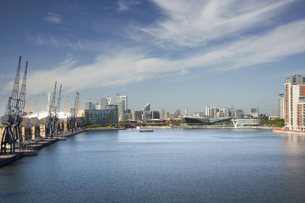 Royal Docks: Has appointed Bullet PR to promote regeneration