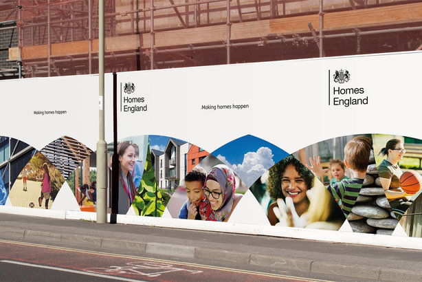 Homes England has unveiled its new brand