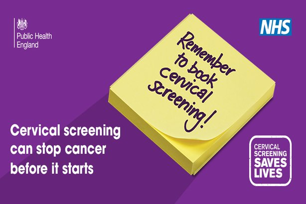 One of the images being used to promote the Cervical Screening Saves Lives campaign