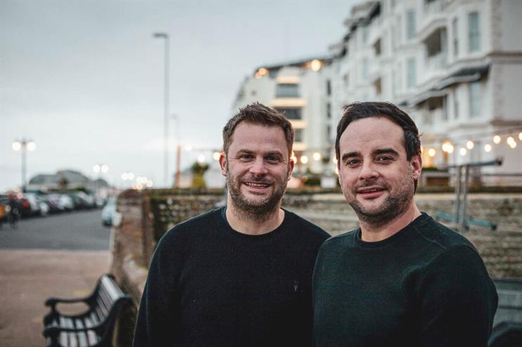 Now we are Twelve (L-R): Chris Webb and Neil Sparks have co-founded an agency