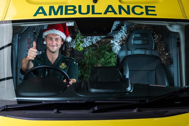 Public Sector Christmas: Ambulances are the service of last resort