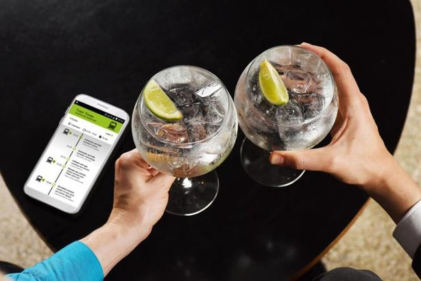 Influencer showcase: Gordon's Gin helps stranded commuters drown their sorrows