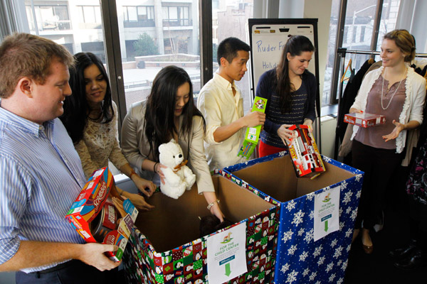 Ruder Finn's holiday drive meets needs of Sandy victims