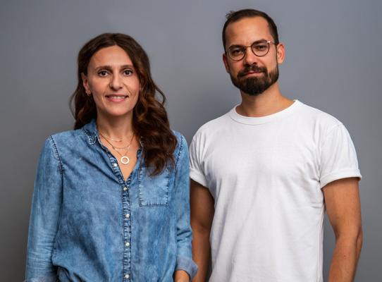 'The ideal team': Simona Schapiro and Jannis Klausch