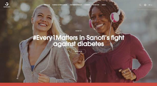 Sanofi revamps web presence as part of Empowering Life campaign