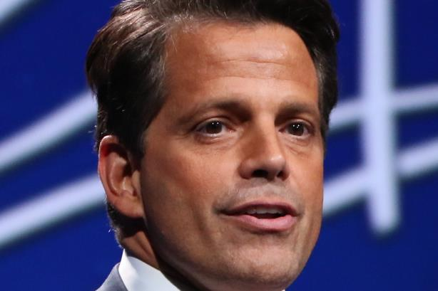 """SkyBridge Capital founder Anthony Scaramucci speaks at the 2016 SkyBridge Alternatives """"SALT"""" Conference at the Bellagio Resort & Casino in Las Vegas (Image via Wikimedia Commons, By Jdarsie11 - Own work, CC BY-SA 4.0, https://commons.wikimedia.org/w"""