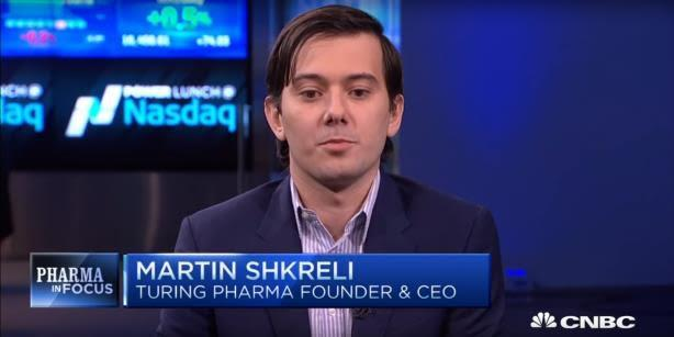 DCI Group aids Turing Pharmaceuticals amid drug price, Shkreli controversies