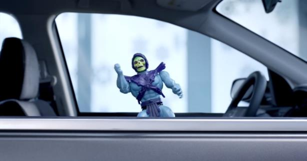 Skeletor is featured in one of Honda's most recent ads.