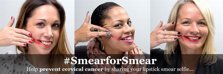Jo's Cervical Cancer Trust launches Smear for Smear selfie campaign