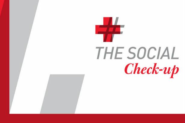 Which pharma firm has the healthiest presence on social media?