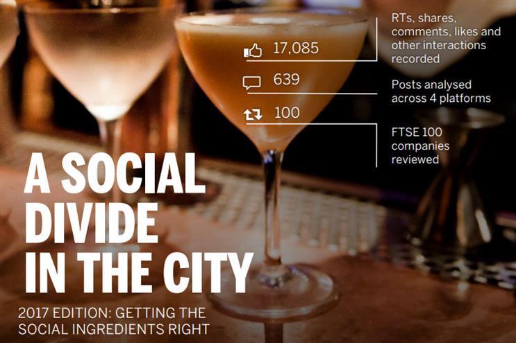 Who has overtaken BP as the best user of social media on the FTSE 100?
