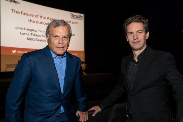 L-R: Martin Sorrell and MediaMonks' Victor Knapp
