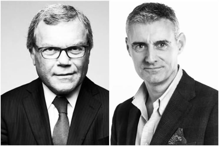 L-R: One-time WPP boss Martin Sorrell and former colleague Jim Prior
