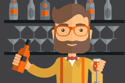 The exception to millennials' dislike of big corporations: Liquor brands