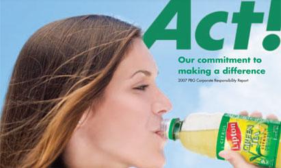 Pepsi Bottling mixes first CSR report in messaging