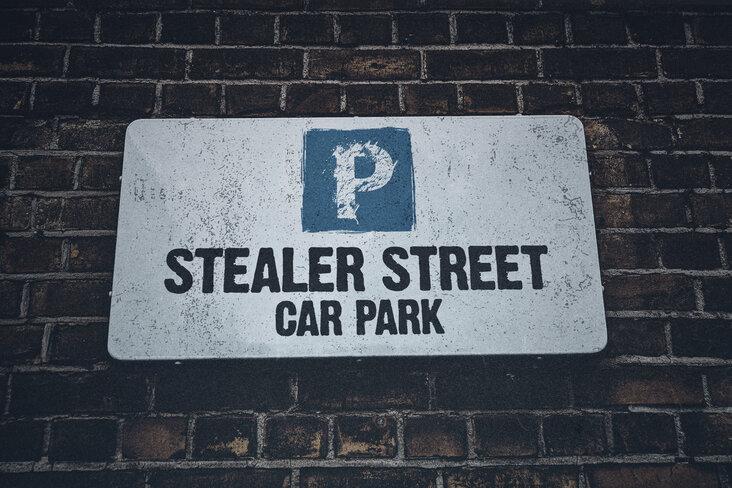 West Midlands Police has created the 'Stealer Street' car park to highlight car crime