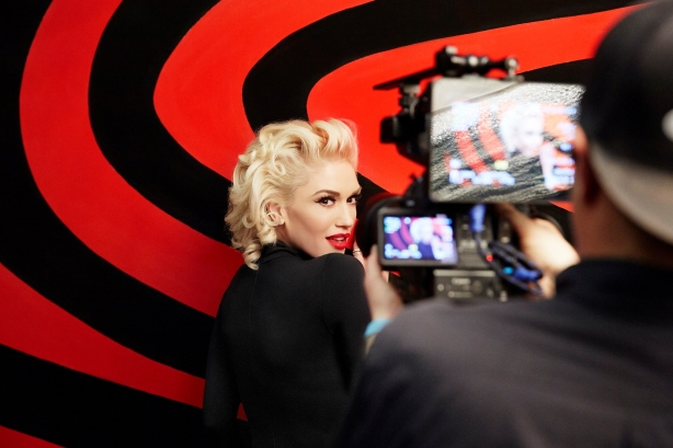 Behind the scenes of Target and Gwen Stefani's live Grammys music video
