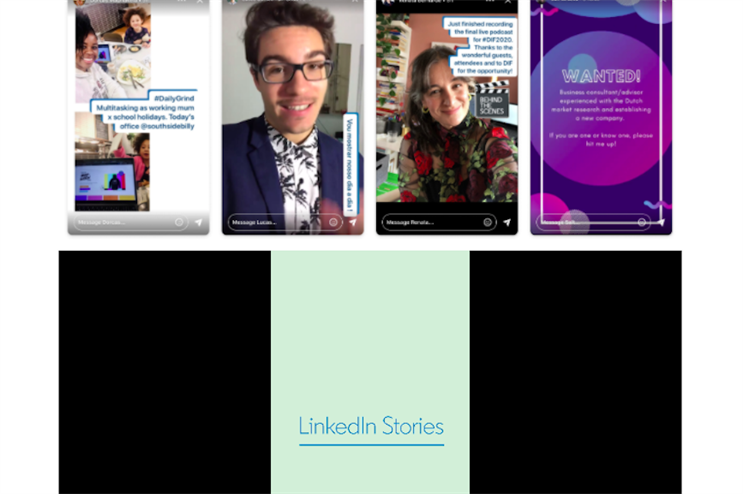 LinkedIn Stories is now a thing. But what would you use it for?