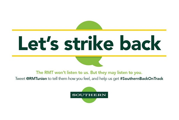 Flop of the month: Southern Rail dubbed #southernfail after anti-union tweet