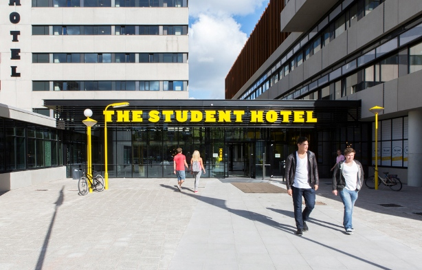 The Student Hotel has accommodation in The Netherlands, Spain and France