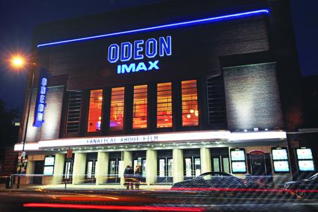 Odeon: Has 124 cinemas in the UK and Ireland