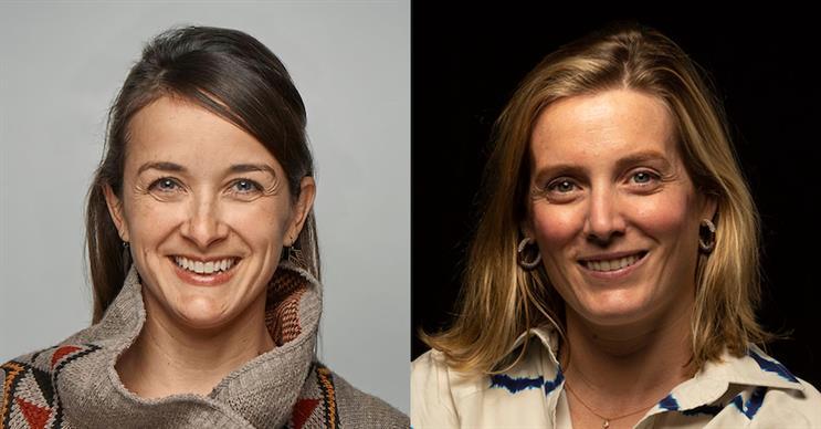 L-R: Charlotte Tansill and Lisa Bright.