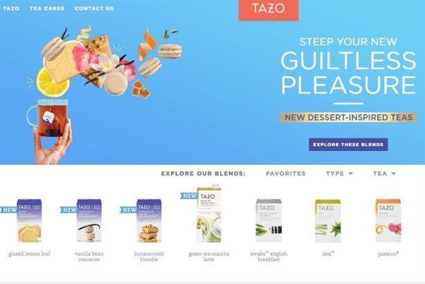 Unilever is buying the Tazo tea brand from Starbucks