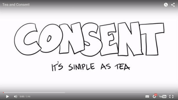 Watch: Social media rape prevention campaign says consent 'as simple as tea'