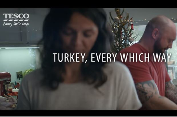 Tesco Christmas campaign places turkey traditions and charity at its heart
