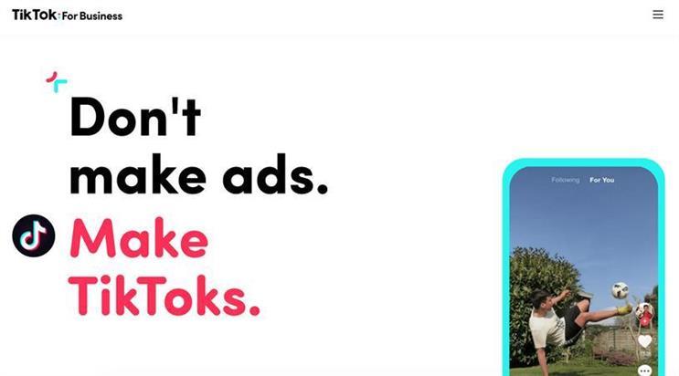 TikTok launches advertising, creative platforms following user surge