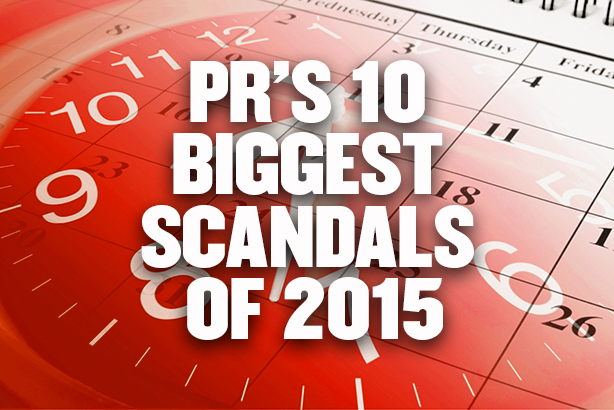 PR's 10 biggest scandals of 2015