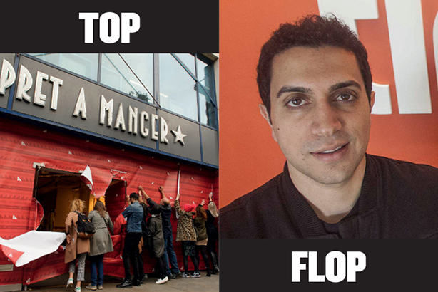 Top and Flop: November 2015's biggest PR fail and greatest comms triumph