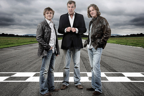 Jeremy Clarkson: With his Top Gear co-hosts Richard Hammond and James May