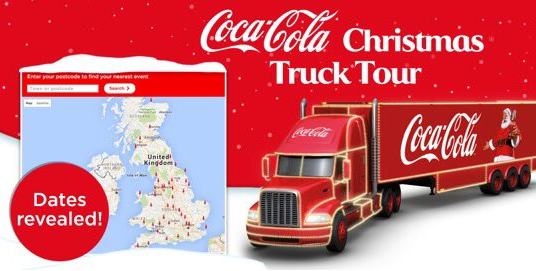 Tour de force: The campaign is not aimed at children, Coca-Cola says