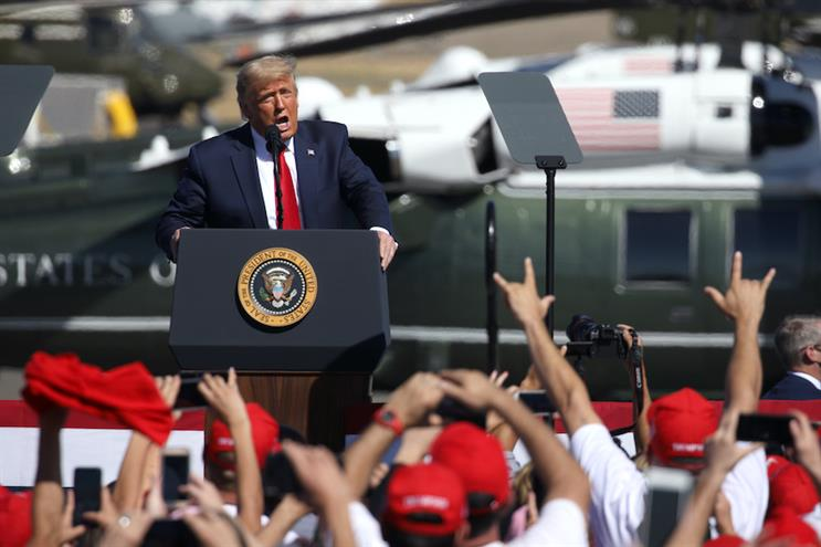 ExxonMobil responded quickly after President Trump mentioned a hypothetical call with its CEO at a Monday campaign stop in Arizona. (Photo credit: Getty Images)