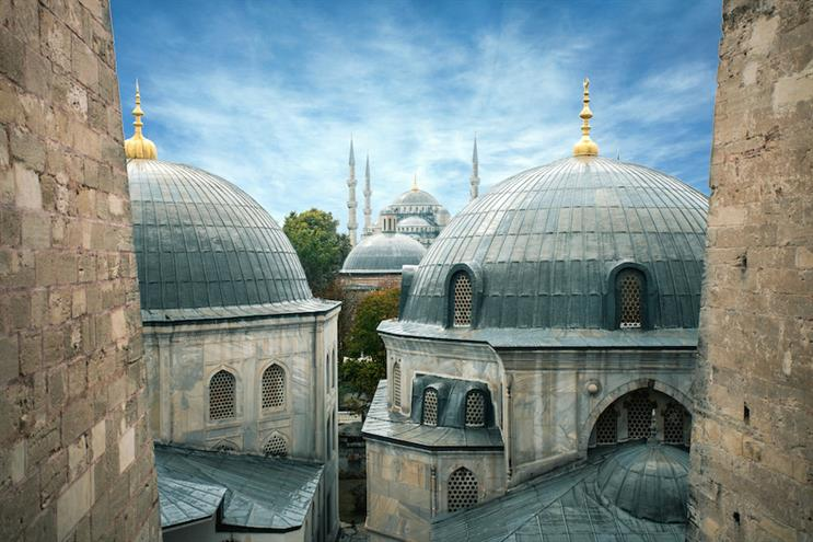 The Blue Mosque in Istanbul, Turkey. (Photo credit: Getty Images).