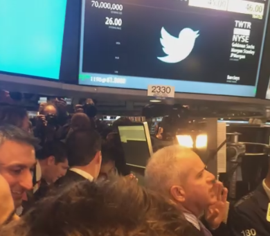 So far, so good for Twitter on the NYSE