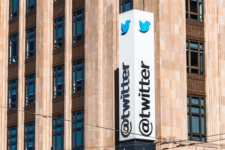 Twitter's San Francisco headquarters. (Photo credit: Getty Images).