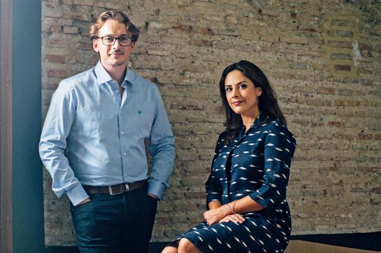 Tyto co-founders Brendon Craigie (l) and Ellen Raphael