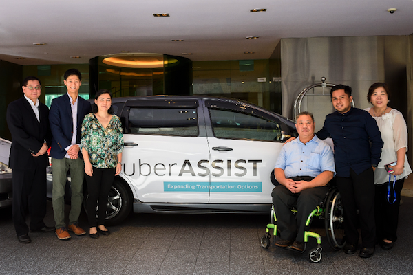 Uber rolls out new Singapore service for disabled customers
